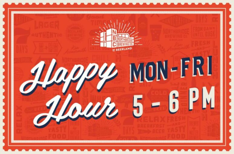 Northbridge Brewing Company Happy Hour