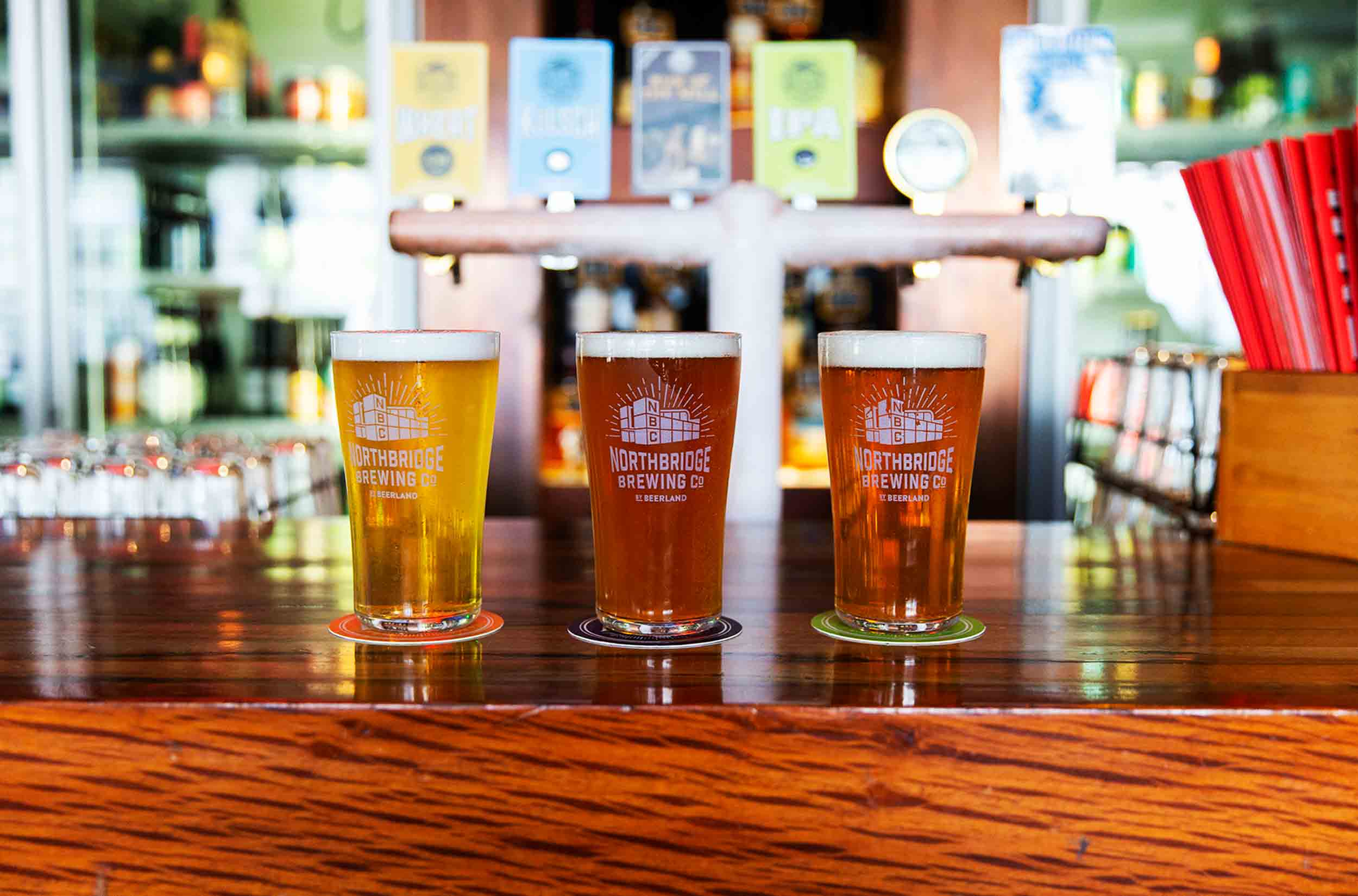 Northbridge Brewing Company Beers