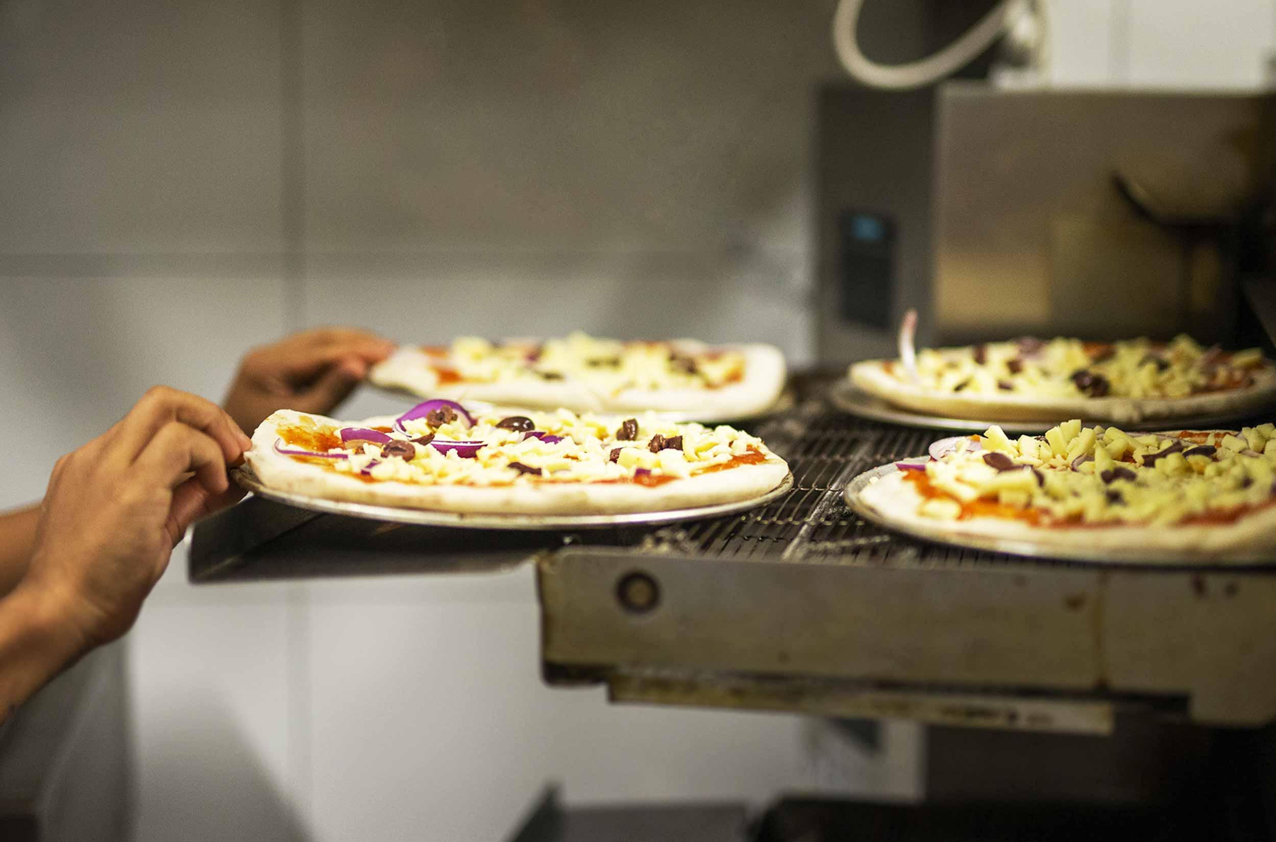 Northbridge Brewing Company Pizzas